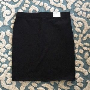 Old Navy Elastic Black Stretchy Skirt
